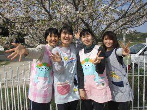 (左から)じゅんこ先生・ゆい先生・きりこ先生・さやか先生